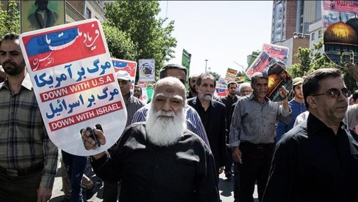 فیلم/ فریاد یکصدای ایران برای آزادی قدس