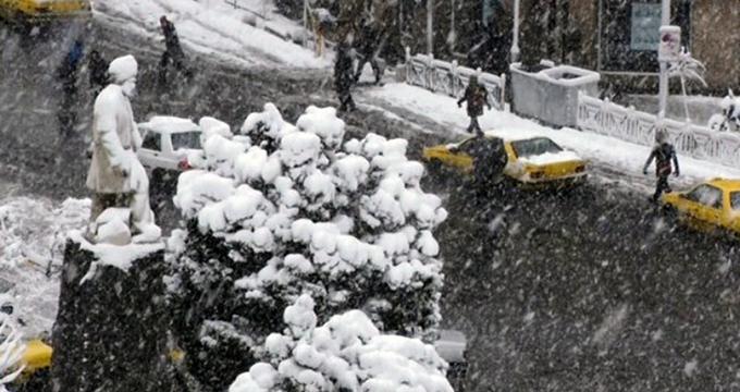 فیلم/ تهران رخت سپید به تن کرد
