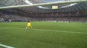 فیلم / اشتباه عجیب لوریس و گل دوم کرواسی به فرانسه