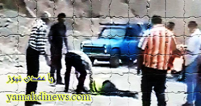 زیرگرفتن دو افسر پلیسراه مازندران