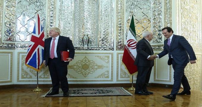 درخواست های جانسون از ایران درباره جاسوس های انگلیسی