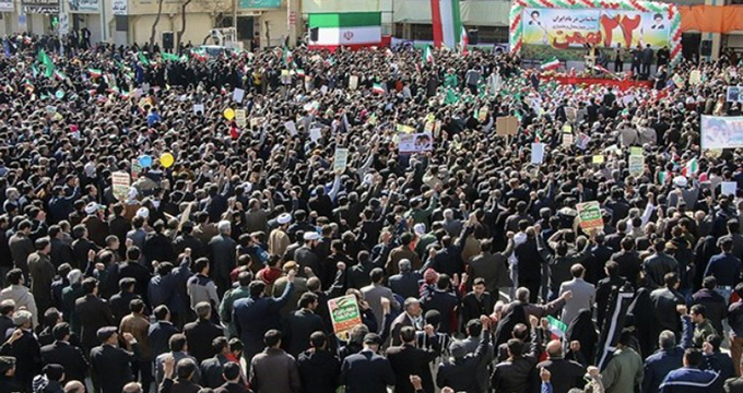 فیلم/ حماسه تماشایی ملت ایران در سراسر کشور