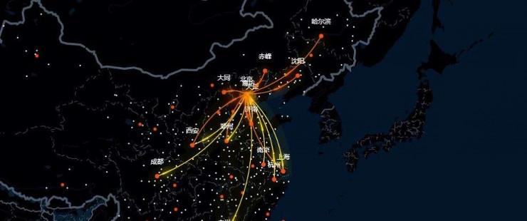 بایدو از جستجوهای روی نقشه ازدحام جمعیت را پیش بینی می کند