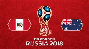 فیلم / خلاصه بازی استرالیا 0 - پرو 2 ( جام جهانی روسیه)