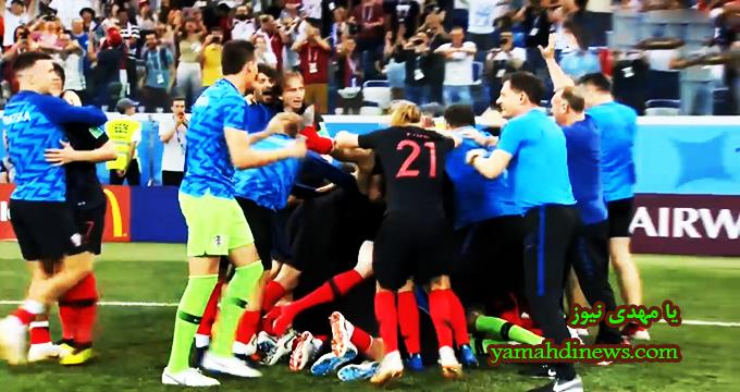 فیلم / پنالتیهای بازی کرواسی 3 - دانمارک 2