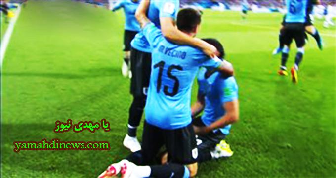 فیلم / گل اول اروگوئه به پرتغال (کاوانی)