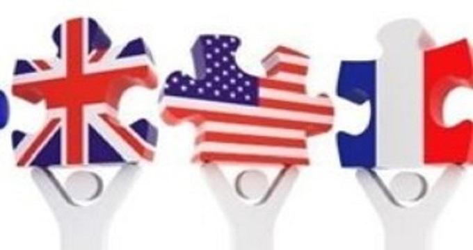 گفتگوی وزرای خارجه آمریکا، انگلیس، آلمان و فرانسه درباره ایران