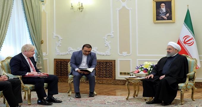 روحانی به وزیرخارجه انگلیس چه گفت؟