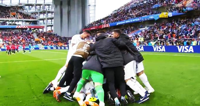 فیلم / خلاصه بازی مصر 0 - اروگوئه 1 (جام جهانی روسیه)