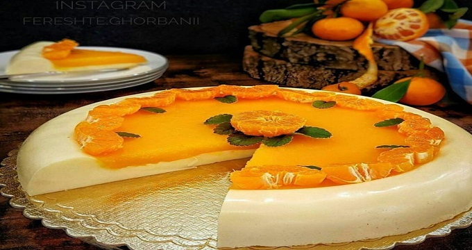 میز اردور/ طرز تهیه «دسر کرم نارنگی»