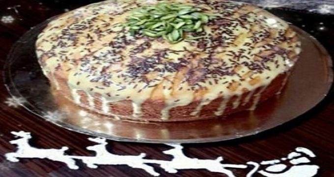شیرینی ها/ کیک کرمی کاسترد، خوش عطر و طعم