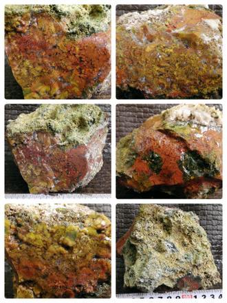 1410 گرم  سنگ عقیق و جاسپر  زیبا شماره 904