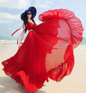 رنگ قرمز در طراحی لباس آموزشگاه مقتدری
