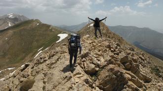 تصاویر پیمایش خط الراس قله ها ، از پلور تا لاسم  13و14خرداد 1394