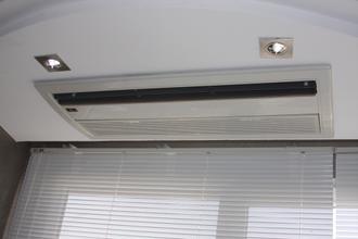 تصاویر تهویه | :: قیمت مینی چیلر کم مصرف آپارتمانی و صنعتیعکس فن کویل چهارطرفه کامپکت نصب شده در سقف 60×60