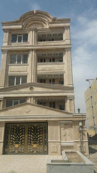 نمونه سنگ کاری نمای ساختمانی کار شده در تهران