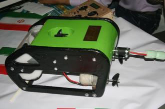 ویژگی های ربات زیردریایی جدید(عکس ربات قدیمی و جدید موجود است)