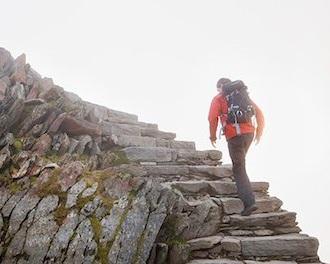 رسیدن به قله با استواری