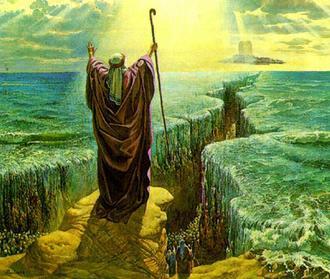 باز شدن رود نیل - خروج و خدایان - خروج بنی اسرائیل از مصر - شکافتن رود نیل - معجزات حضرت موسی - ورود بنی اسرائیل به صحرای سینا - سفر خروج - تاریخچه بنی اسرائیل - تاریخچه یهود
