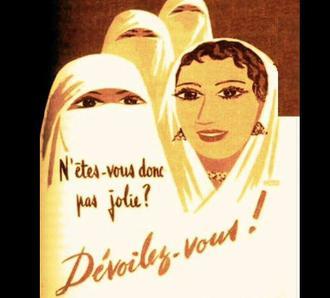 تغییر سبک زندگی و تبلیغات ضد حجاب در الجزایر/ غربی سازی (d'occidentalisation) الجزائر/زنده باد آزادی!