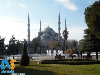 مسجد آبی در شهر استانبول