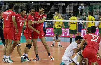 نتیجه والیبال ایران برزیل لیگ جهانی 27 خرداد
