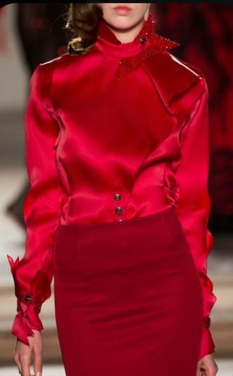رنگ قرمز طراحی لباس آموزشگاه مقتدری
