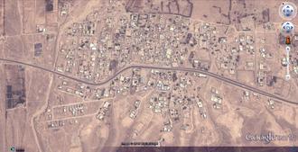 تصویر ماهواره ای خیرگو