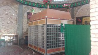 عکس حرم امامزاده روستای کفرود