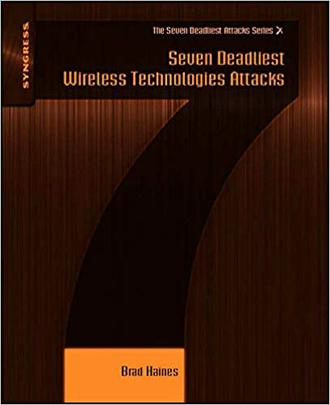 کتاب Seven Deadliest Wireless Technologies Attack