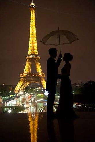 آهنگ خارجی یک شب بارانی در پاریس