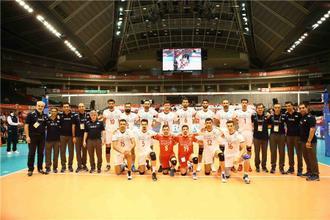 والیبال ایران استرالیا انتخابی المپیک 8 خرداد 95