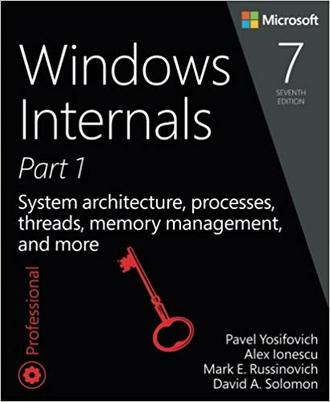 کتاب Windows Internals Part 1