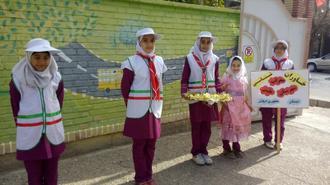 پیشتازان سازمان دانش آموزی طبس
