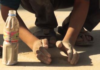 مستند تأثیرگذار درباره خاک متبرک قدم های زائران اربعین