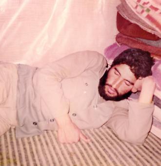 صد ساعت بیداری شهید احمد کاظمیدر بم