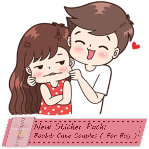 Boobib Cute Couples ( For Boy )