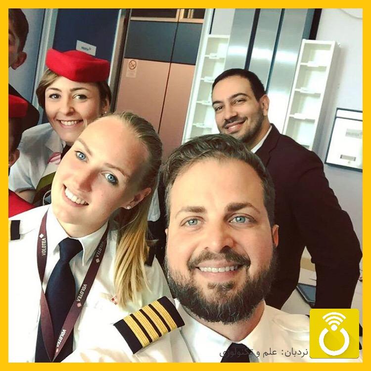 آشنایی با خلبان جوانی که در اینستاگرام به پرواز در آمده است