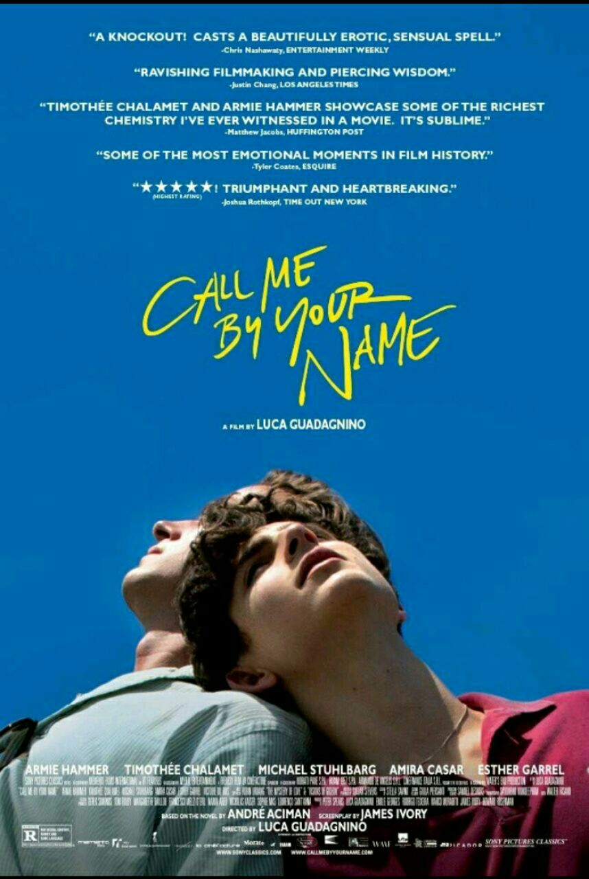 Call me by your name- 2017