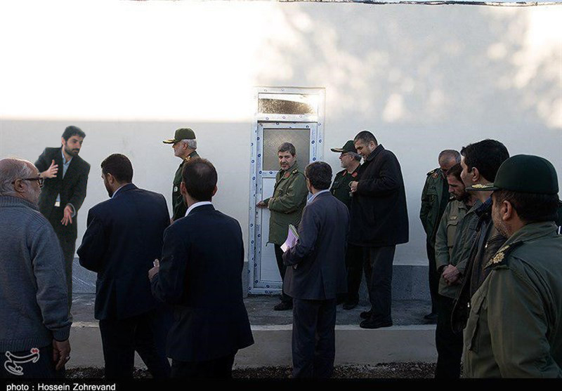 مسعود کریمیان با قرارگاه محرومیت زدایی سپاه