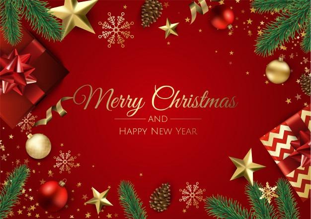 زیباترین کارت پستال تبریک کریسمس 2020