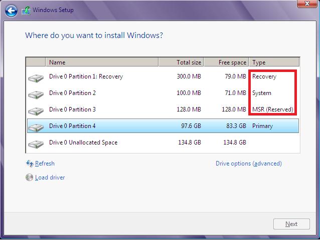 چگونه بفهمیم ویندوز کنونی UEFI است