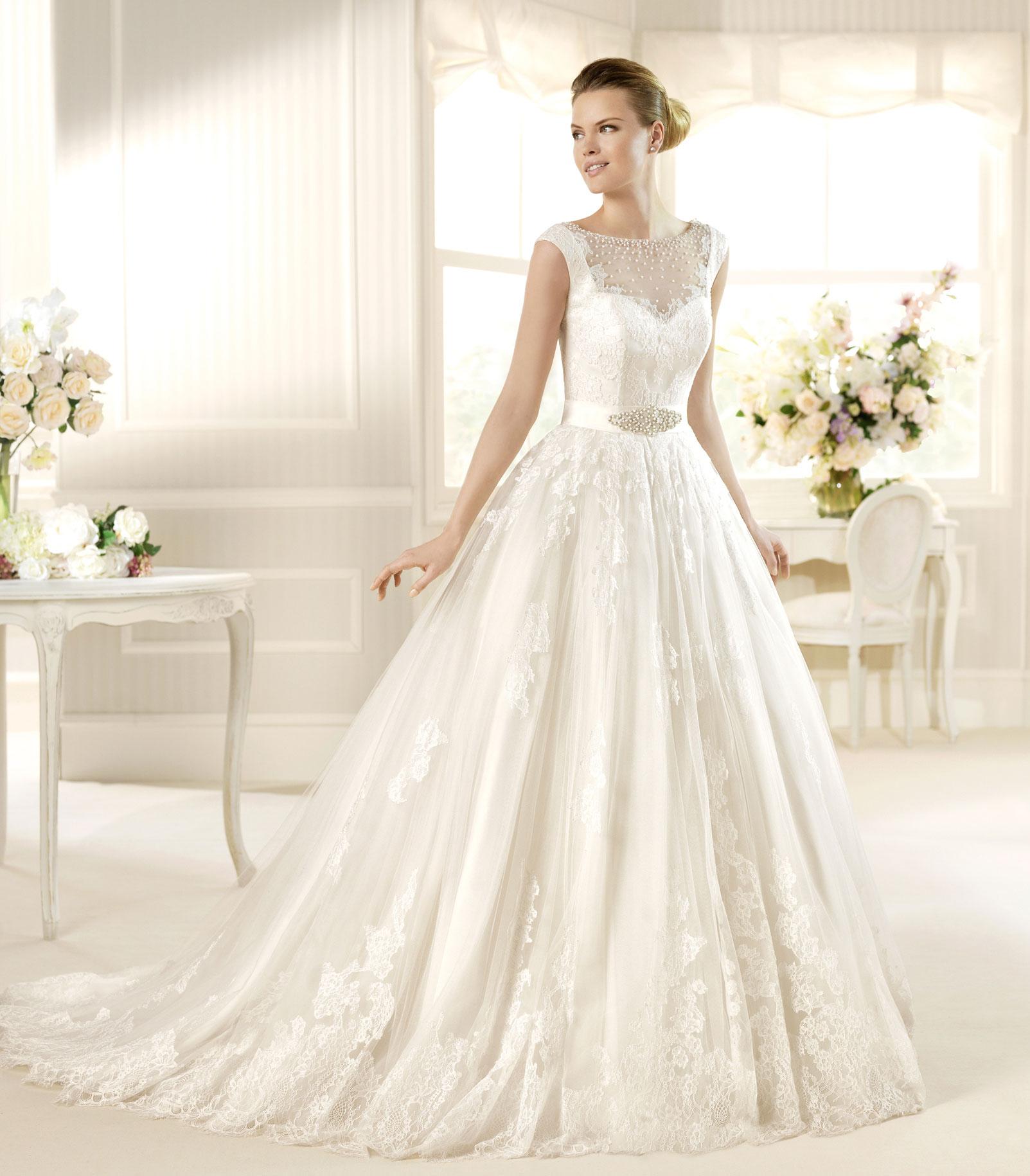 AroosSite.com عروس سایت AroosSite لباس عروس پوشیده مدل جدید 2016 Lebas jadid
