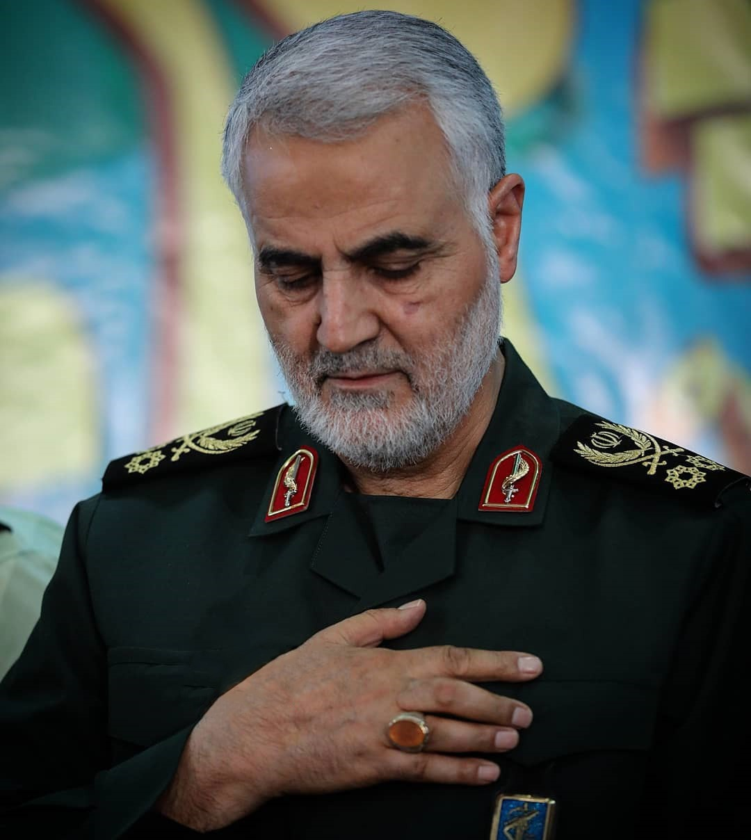 عکس پروفایل سردار شهید حاج قاسم سلیمانی