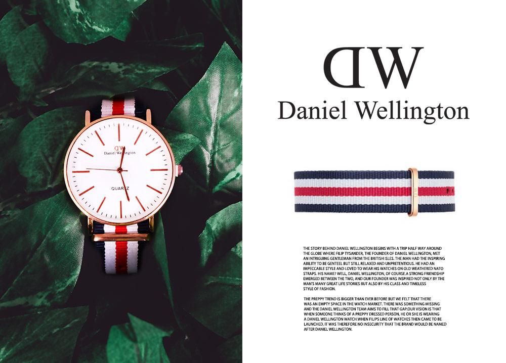 خرید اینترنتی ساعت مچی Daniel Wellington