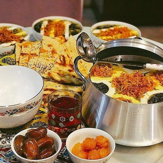 غذای مفید در ماه رمضان