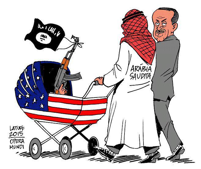 down with Saudi Arabia