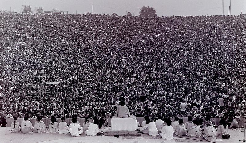 نخستین کنسرت وود استاک