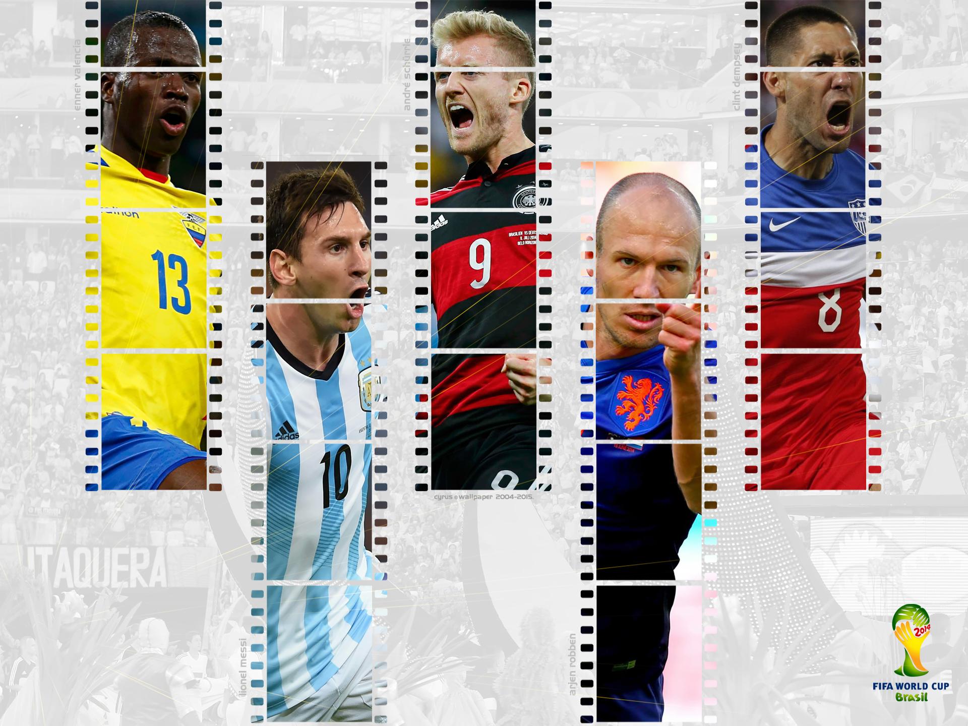 والپیپر جام جهانی 2014 برزیل
