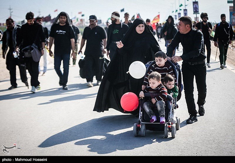 shia muslims grat walking,iraq,arbain 2015,imam mahdi